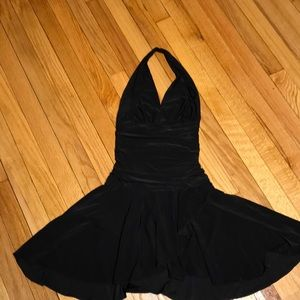 Stunning shape black little dress sz Xs/S  stretch